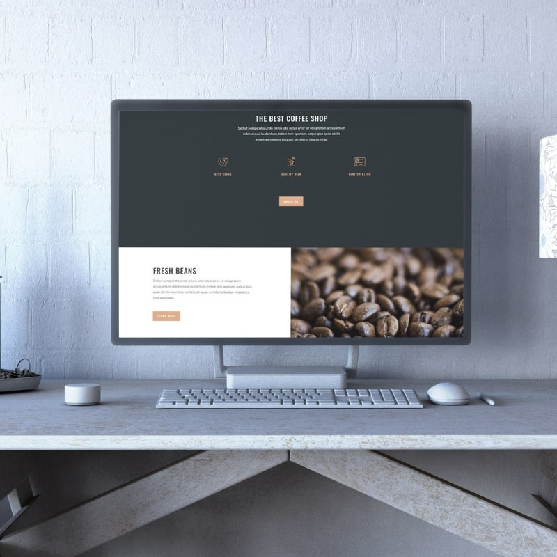 Site internet café