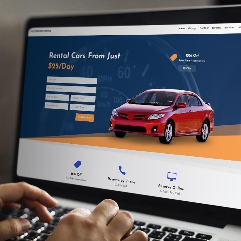 Site internet location de voitures